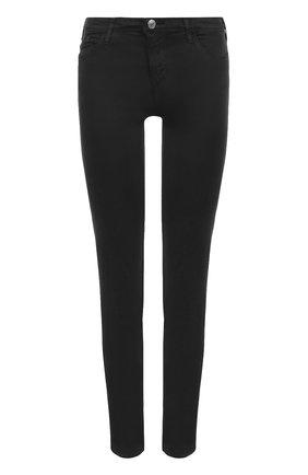Однотонные джинсы-скинни Armani Jeans черные | Фото №1
