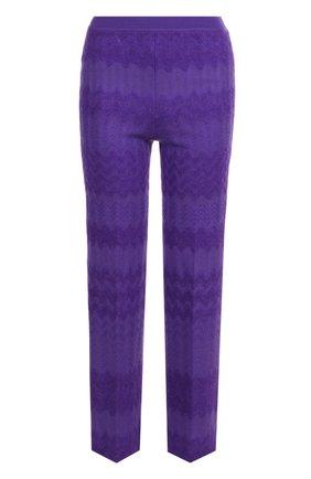 Укороченные расклешенные брюки Missoni белые | Фото №1