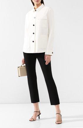 Женские укороченные брюки VINCE черного цвета, арт. VR52921199 | Фото 2
