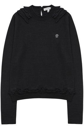 Пуловер джерси | Фото №1