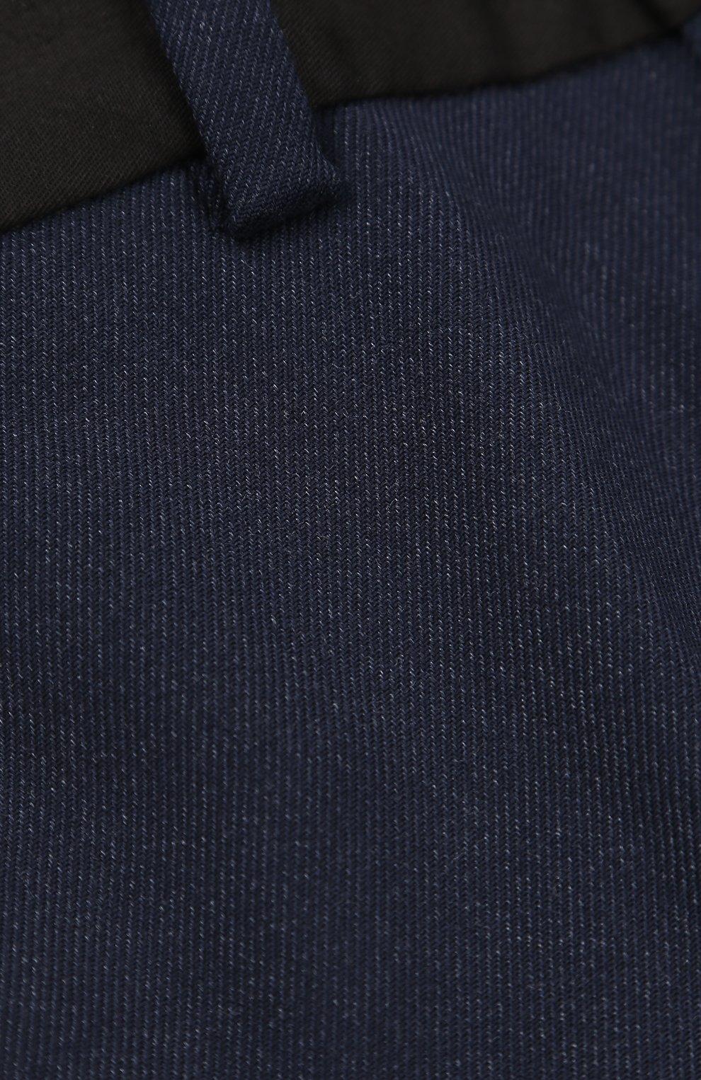Детские хлопковые брюки со стрелками MARC JACOBS синего цвета ... db3a8100d0e84