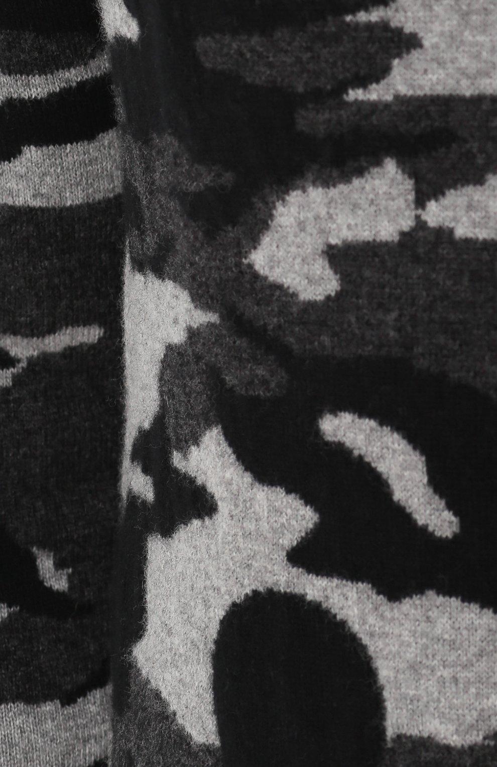 Шерстяной джемпер с камуфляжным принтом   Фото №5