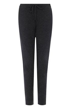 Кашемировые брюки-скинни Le Kasha темно-серые   Фото №1