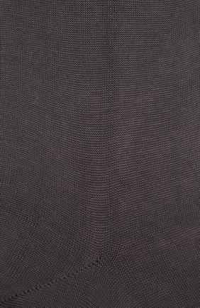Мужские хлопковые носки ZIMMERLI темно-серого цвета, арт. 2501 | Фото 2 (Кросс-КТ: бельё; Материал внешний: Хлопок; Статус проверки: Проверено)