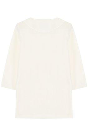Трикотажный халат с контрастной отделкой | Фото №2