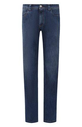 Мужские джинсы LORO PIANA синего цвета, арт. FAF8892 | Фото 1