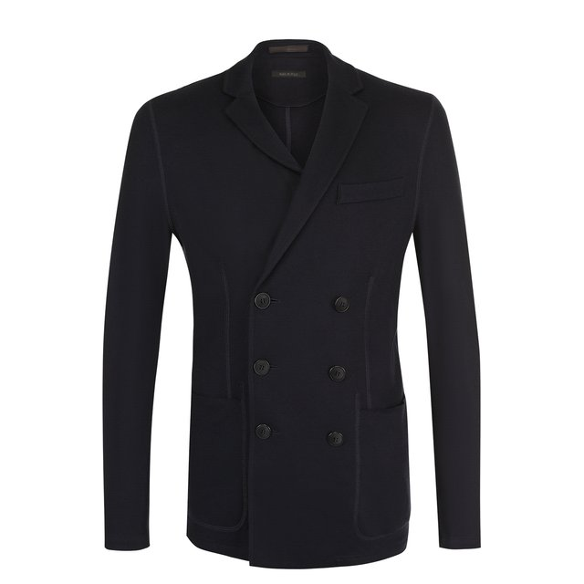 Двубортный кашемировый пиджак Giorgio Armani