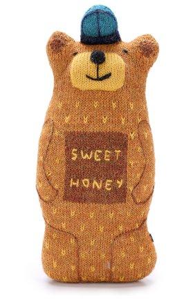 Шерстяная игрушка Oeuf светло-коричневого цвета | Фото №1