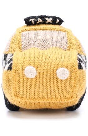 Шерстяная игрушка Oeuf желтого цвета | Фото №1