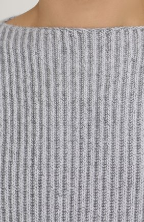 Кашемировый свитер фактурной вязки | Фото №5