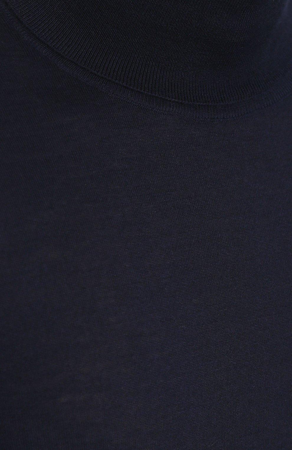 Кашемировая водолазка тонкой вязки | Фото №5