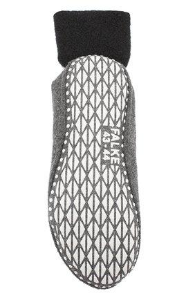 Мужские шерстяные носки FALKE темно-серого цвета, арт. 16560 | Фото 2