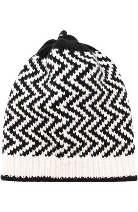 Вязаная шапка из смеси шерсти и вискозы с кашемиром | Фото №1