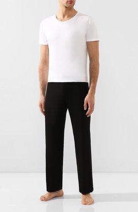 Мужская хлопковая футболка  ZIMMERLI белого цвета, арт. 286-1441 | Фото 2