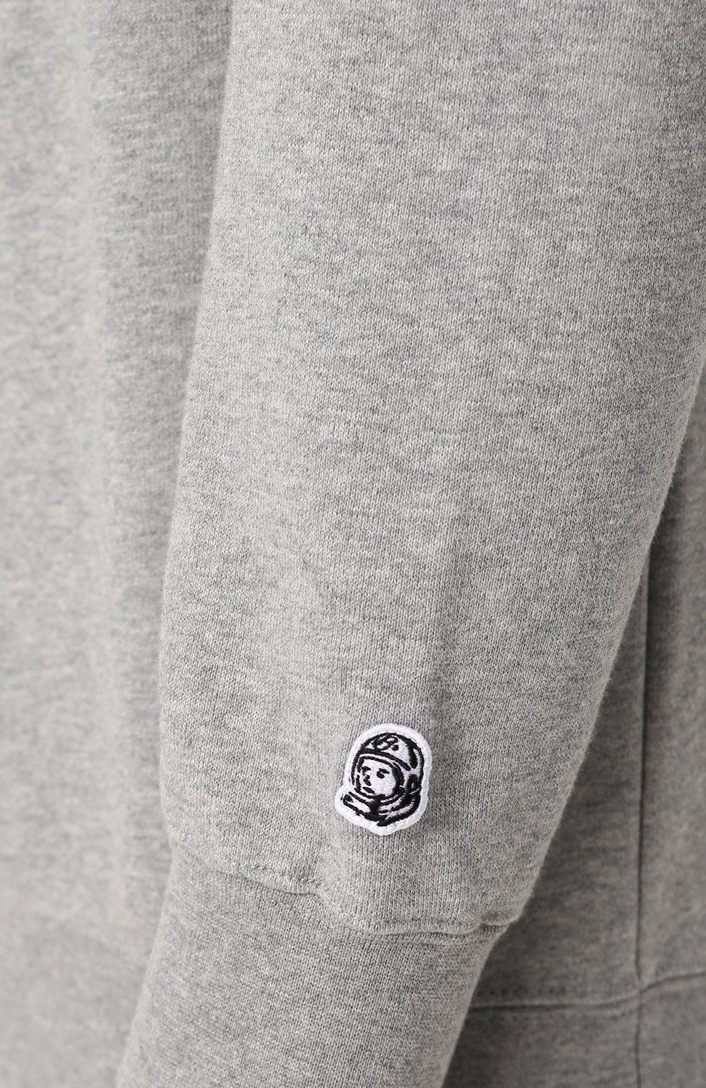 Хлопковый свитшот с логотипом бренда | Фото №5