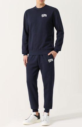 Мужской хлопковые джоггеры с карманами BILLIONAIRE BOYS CLUB темно-синего цвета, арт. B16513 | Фото 2
