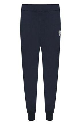 Хлопковые джоггеры с карманами Billionaire Boys Club темно-синие | Фото №1