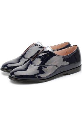 Лаковые ботинки без шнуровки | Фото №1