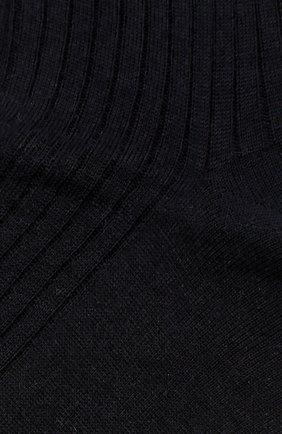 Мужские шерстяные носки FALKE темно-синего цвета, арт. 14449 | Фото 2