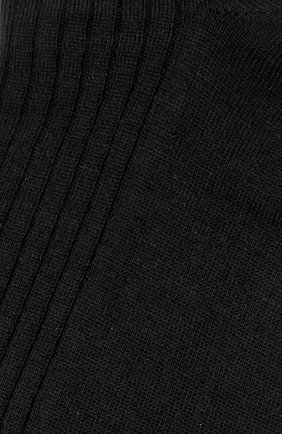 Мужские шерстяные носки FALKE черного цвета, арт. 14449 | Фото 2