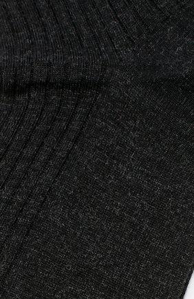 Мужские шерстяные носки FALKE темно-серого цвета, арт. 14449 | Фото 2