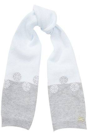 Комплект из шарфа с варежками | Фото №2
