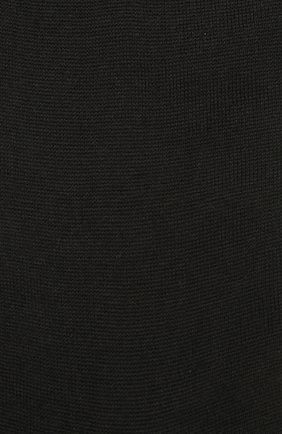 Мужские шерстяные носки ZIMMERLI черного цвета, арт. 2541 | Фото 2