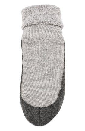 Мужские шерстяные носки FALKE светло-серого цвета, арт. 16560 | Фото 1