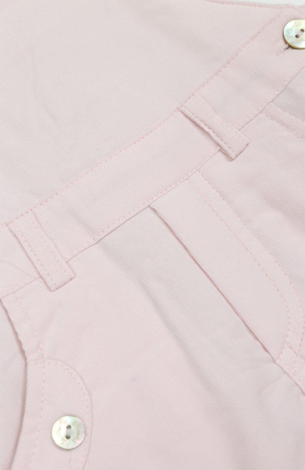 Детский хлопковый комбинезон TARTINE ET CHOCOLAT розового цвета, арт. TK20001/1M-18M   Фото 3 (Рукава: Короткие; Материал внешний: Хлопок)
