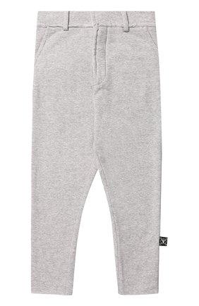 Хлопковые брюки прямого кроя | Фото №1