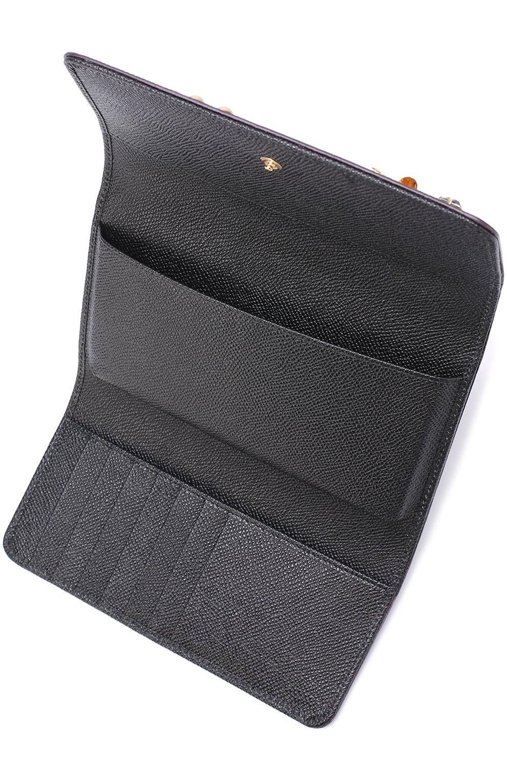 Кожаный чехол для iPhone 7 Plus на цепочке Dolce & Gabbana  | Фото №3