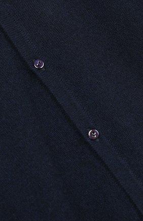 Кашемировые кардиган с V-образным вырезом | Фото №3