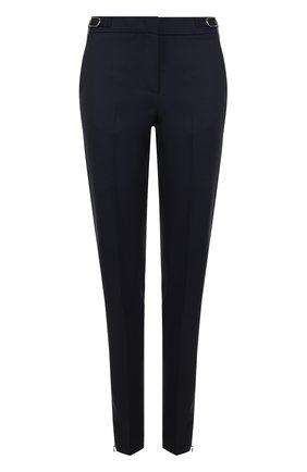 Шерстяные брюки прямого кроя со стрелками Gabriela Hearst красные | Фото №1