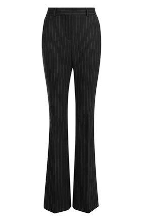 Расклешенные брюки в полоску | Фото №1