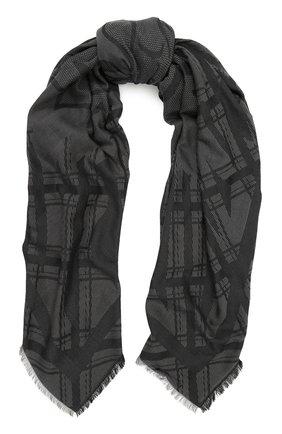 Хлопковый шарф с принтом | Фото №1