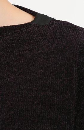 Шелковый джемпер свободного кроя | Фото №5