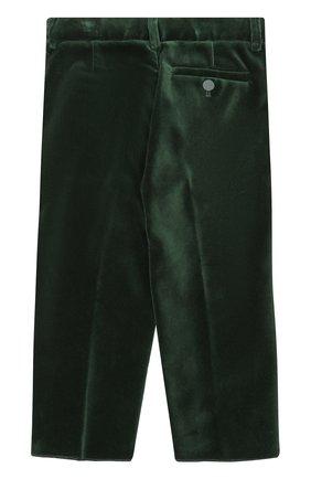 Хлопковый костюм с пиджаком на двух пуговицах | Фото №5