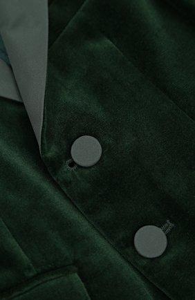 Хлопковый костюм с пиджаком на двух пуговицах | Фото №6