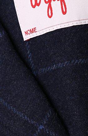 Хлопковой пиджак в контрастную полоску | Фото №3
