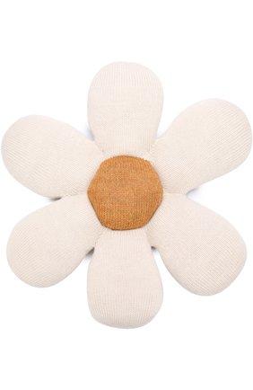 Мягкая игрушка в виде ромашки Oeuf белого цвета | Фото №1