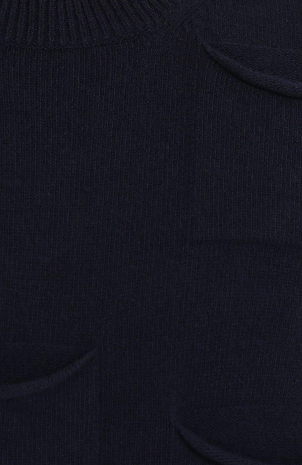 Джемпер из смеси шерсти и кашемира с отделкой   Фото №5