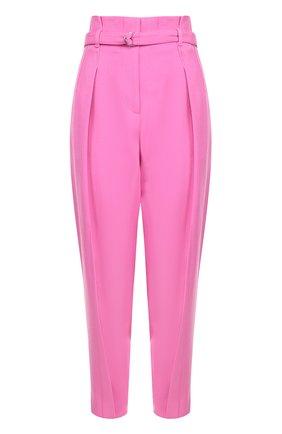Укороченные брюки с завышенной талией и поясом 3.1 Phillip Lim розовые | Фото №1