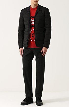 Шерстяной свитер с узором | Фото №2