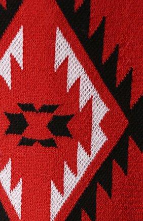 Шерстяной свитер с узором | Фото №5