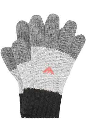 Вязаные перчатки с логотипом бренда | Фото №1