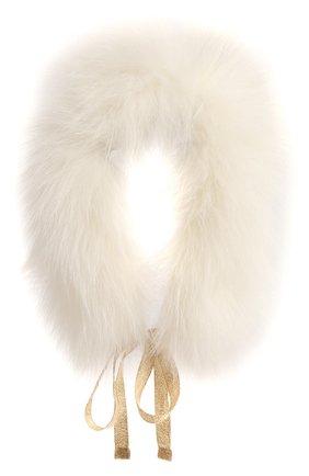 Воротник из меха лисы | Фото №1