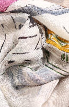 Шаль из смеси кашемира и шелка | Фото №2
