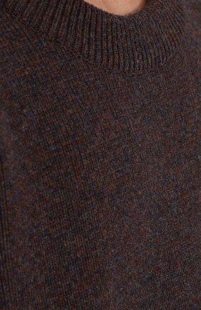 Шерстяной свитер свободного кроя   Фото №5