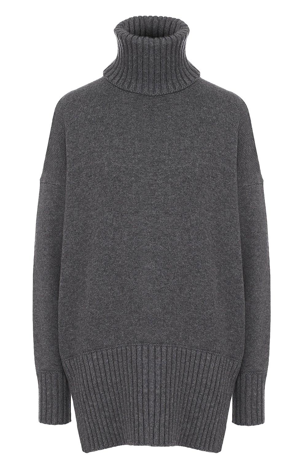 Удлиненный кашемировый свитер | Фото №1