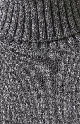 Удлиненный кашемировый свитер Dolce & Gabbana темно-серый | Фото №5